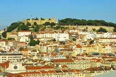 Panorama van Lissabon Royalty-vrije Stock Foto