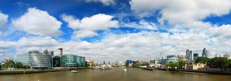 Panorama van Londen Stock Foto's
