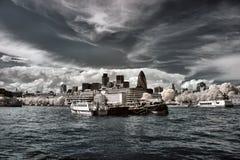 Panorama van Londen Royalty-vrije Stock Foto's