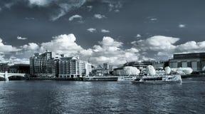 Panorama van Londen Stock Afbeelding
