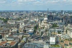 Panorama van Londen van Hemeltuin in Walkie-talkie Royalty-vrije Stock Afbeelding