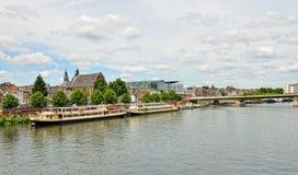 Panorama van Maastricht Stock Afbeelding