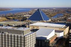 Panorama van Memphis Stock Afbeeldingen