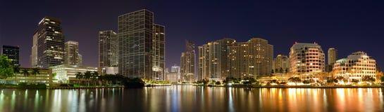 Panorama van Miami royalty-vrije stock foto