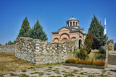 Panorama van Middeleeuws Klooster St John Doopsgezind, Bulgarije Royalty-vrije Stock Afbeeldingen