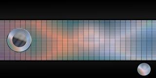 Panorama van moderne texturen Royalty-vrije Illustratie
