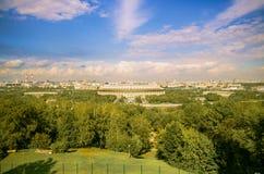 Panorama van Moskou Royalty-vrije Stock Foto