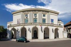 Panorama van Nationaal ballet en operatheater in Constanta, Roemenië royalty-vrije stock foto's