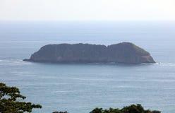 Panorama van nationaal het parkstrand van Manuel Antonio in Costa Rica, de meeste mooie stranden in de wereld, surferstranden in  royalty-vrije stock foto