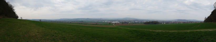 Panorama van Northeim-Duitsland Royalty-vrije Stock Afbeelding