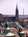 Panorama van Nuremberg Royalty-vrije Stock Afbeeldingen