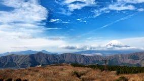 Panorama van Onderstel Fuji Stock Foto