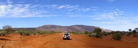 Panorama van onderstelaugustus, westelijk Australië Stock Foto's