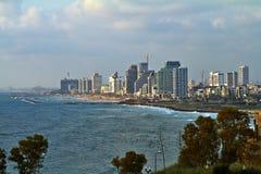 Panorama van Oude Jaffa royalty-vrije stock fotografie