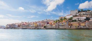 Panorama van oude Porto royalty-vrije stock foto's