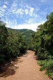 Panorama van Oxapampa royalty-vrije stock foto