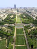 Panorama van Parijs Royalty-vrije Stock Fotografie