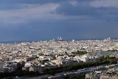 Panorama van Parijs Royalty-vrije Stock Foto
