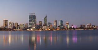 Panorama van Perth, Australië Royalty-vrije Stock Fotografie