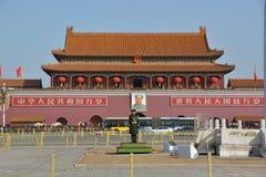 Panorama van Poort Tiananmen Royalty-vrije Stock Afbeelding