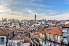 Panorama van Porto Royalty-vrije Stock Foto's