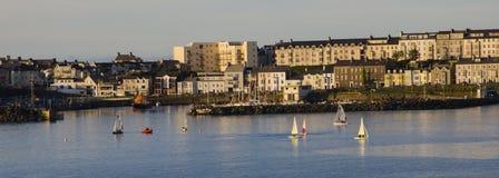 Panorama van Portrush-Haven Royalty-vrije Stock Afbeelding