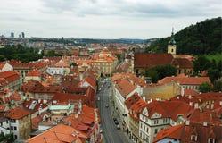Panorama van Praag Royalty-vrije Stock Afbeeldingen