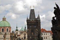 Panorama van Praag Stock Fotografie