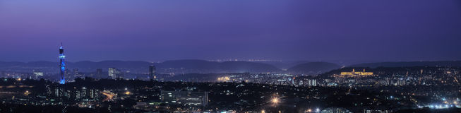 Panorama van Pretoria Royalty-vrije Stock Afbeelding