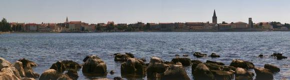 Panorama van Pula, Kroatië. Royalty-vrije Stock Foto's