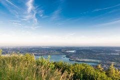 Panorama van Regionale Parkcampo dei Fiori van Varese Royalty-vrije Stock Fotografie