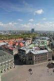 Panorama van Riga royalty-vrije stock afbeeldingen