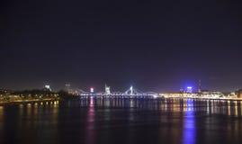Panorama van Riga, Letland, Europa Stock Foto's