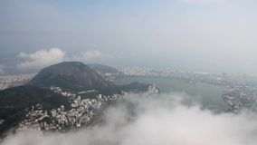 Panorama van Rio de Janeiro stock video