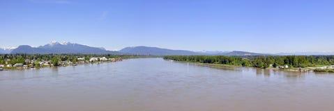 Panorama van Rivier Fraser stock afbeeldingen