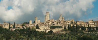 Panorama van San Gimignano Royalty-vrije Stock Afbeelding