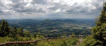Panorama van Smrk Stock Afbeeldingen