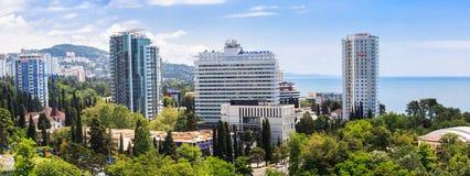 Panorama van Sotchi Royalty-vrije Stock Afbeeldingen