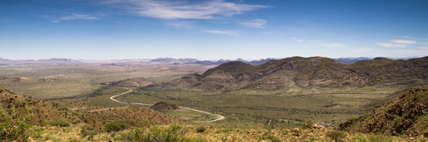 Panorama van Spreetshogte-Pas stock foto's
