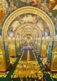 Panorama van St John Co-Cathedral, Valletta, Malta royalty-vrije stock foto