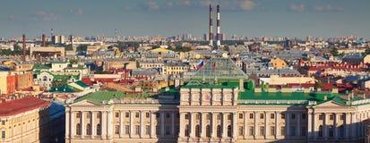 Panorama van St. Petersburg Stock Foto's