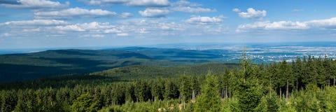Panorama van Taunus Hillscape Royalty-vrije Stock Afbeeldingen
