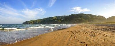 Panorama van Tucuns-strand Royalty-vrije Stock Foto