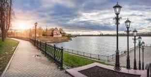 Panorama van Uglich royalty-vrije stock foto's