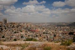 Panorama van Urfa-stad Stock Foto's