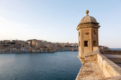 Panorama van Valletta Malta 2013 Royalty-vrije Stock Foto's