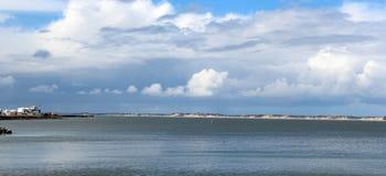 Panorama van Van de West- haven Bunbury Australië Stock Foto's