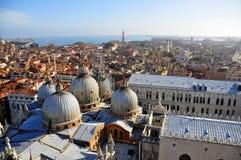 Panorama van Venetië Stock Foto's