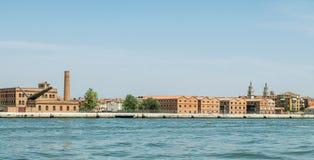 Panorama van Venetië Stock Foto