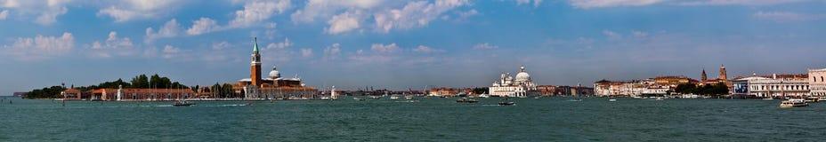 Panorama van Venetië, Italië Stock Foto's